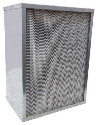 Filtros Absoluto com Separador de Alumínio